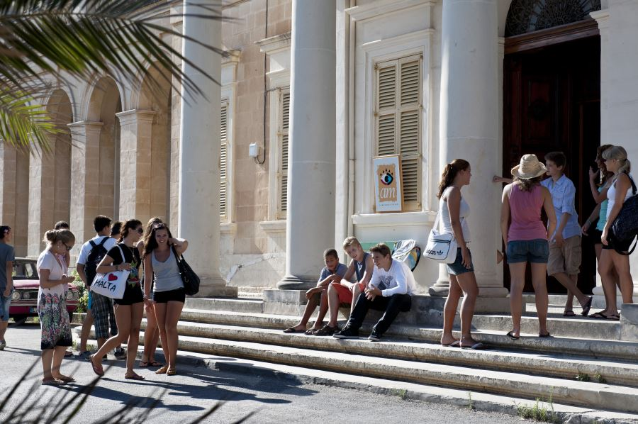 Malta Sprachreisen Sacred Heart School für Teenager
