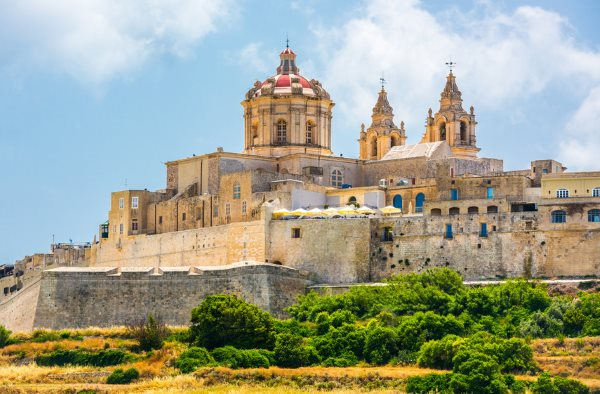 Malta Reiseinformationen: Mdina Drehort für Game of Thrones.
